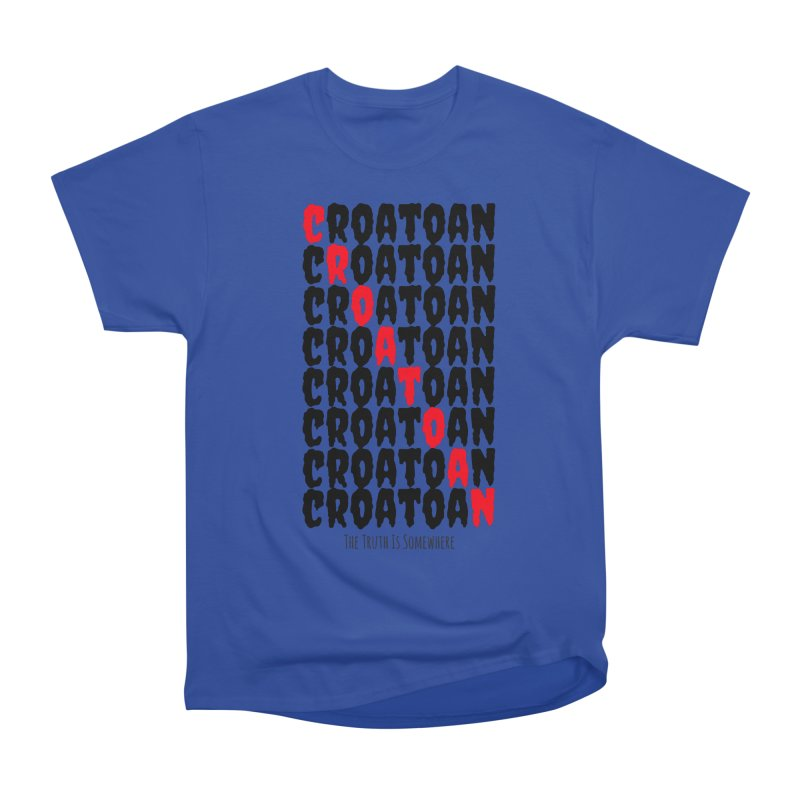 Croatoan Light Men's Heavyweight T-Shirt by The Truth Is Somewhere