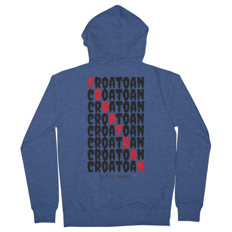 Croatoan Light Men's Zip-Up Hoody by The Truth Is Somewhere