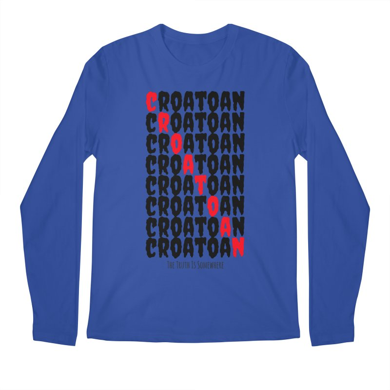 Croatoan Light Men's Regular Longsleeve T-Shirt by The Truth Is Somewhere