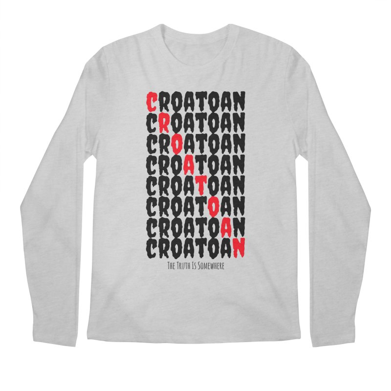 Croatoan Light Men's Longsleeve T-Shirt by The Truth Is Somewhere