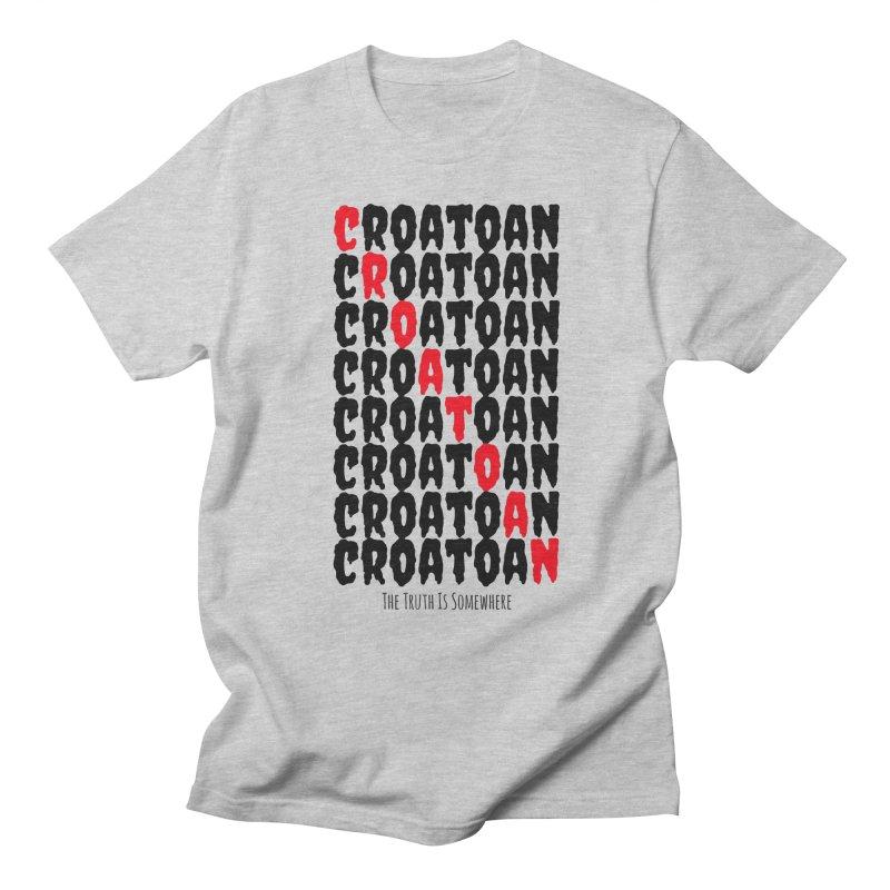 Croatoan Light Women's Regular Unisex T-Shirt by The Truth Is Somewhere