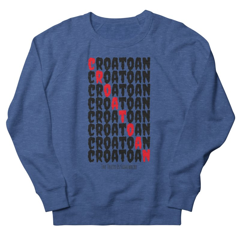 Croatoan Light Women's French Terry Sweatshirt by The Truth Is Somewhere