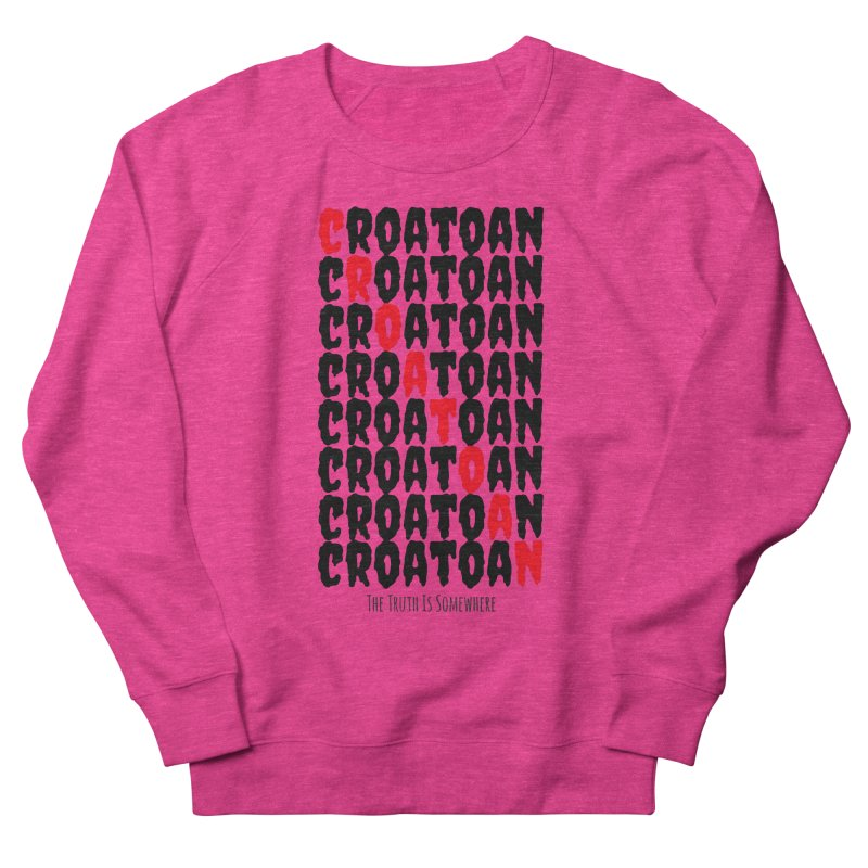 Croatoan Light Men's French Terry Sweatshirt by The Truth Is Somewhere