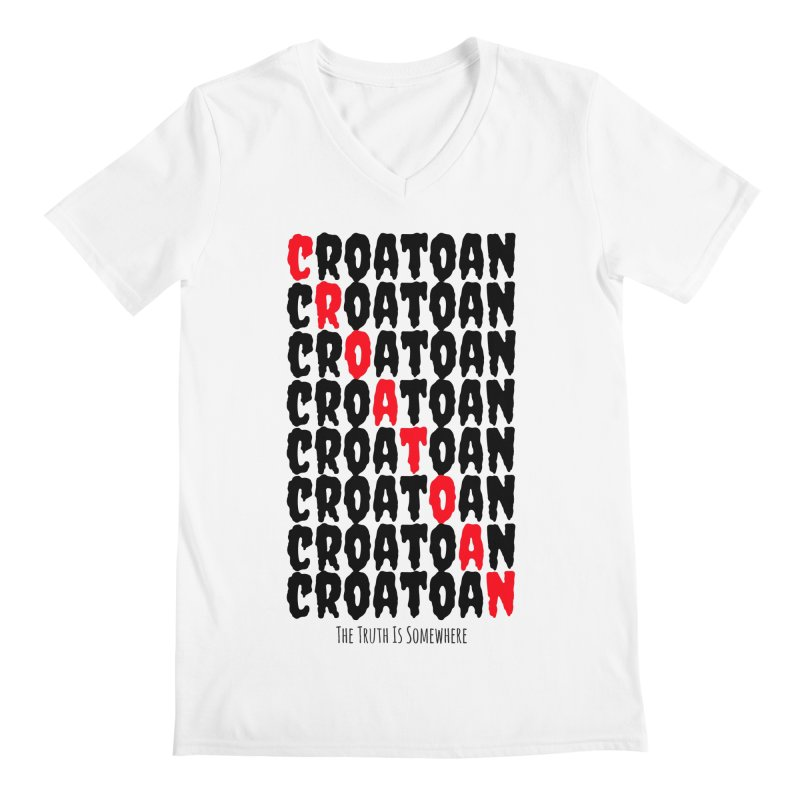 Croatoan Light Men's Regular V-Neck by The Truth Is Somewhere
