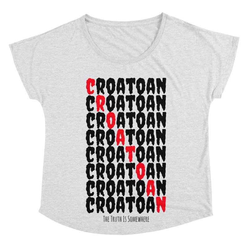 Croatoan Light Women's Scoop Neck by The Truth Is Somewhere