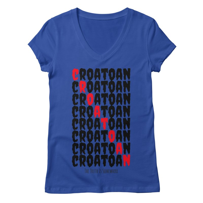 Croatoan Light Women's Regular V-Neck by The Truth Is Somewhere