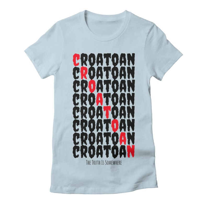 Croatoan Light Women's T-Shirt by The Truth Is Somewhere