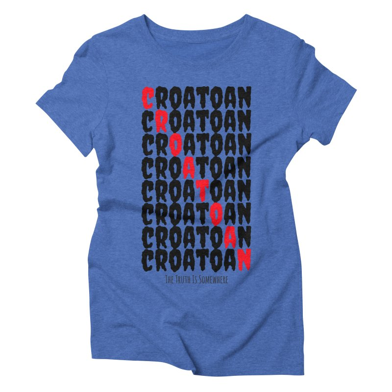 Croatoan Light Women's Triblend T-Shirt by The Truth Is Somewhere
