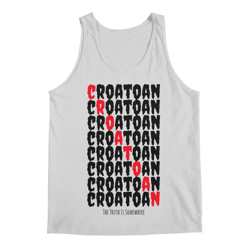 Croatoan Light Men's Regular Tank by The Truth Is Somewhere