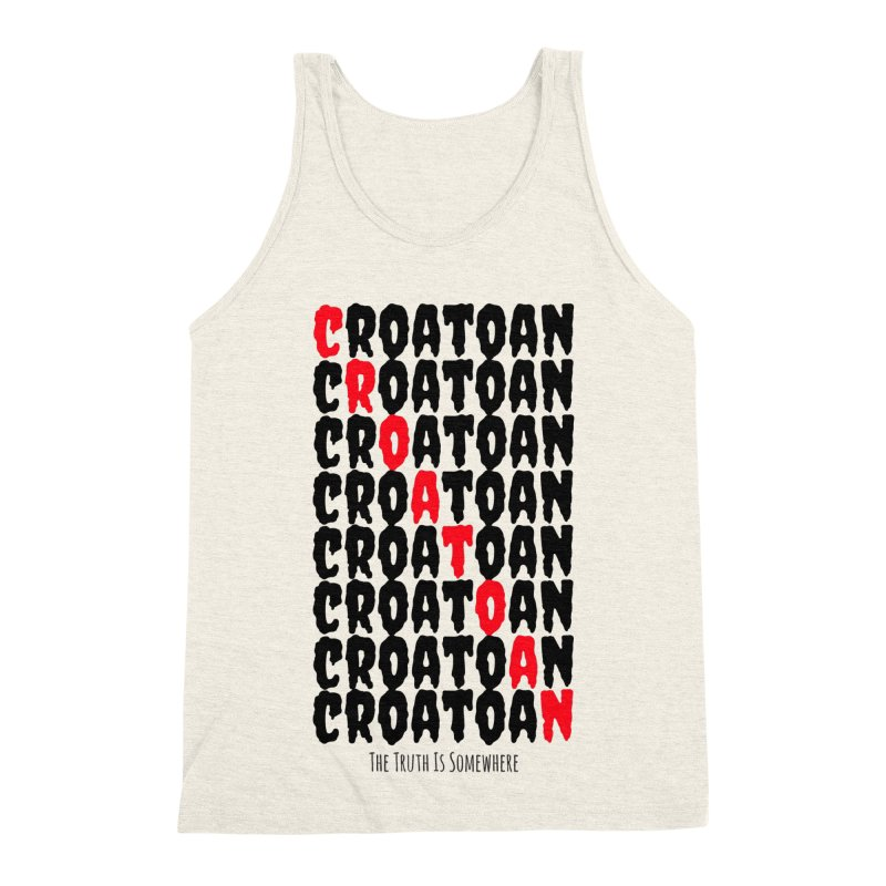 Croatoan Light Men's Triblend Tank by The Truth Is Somewhere
