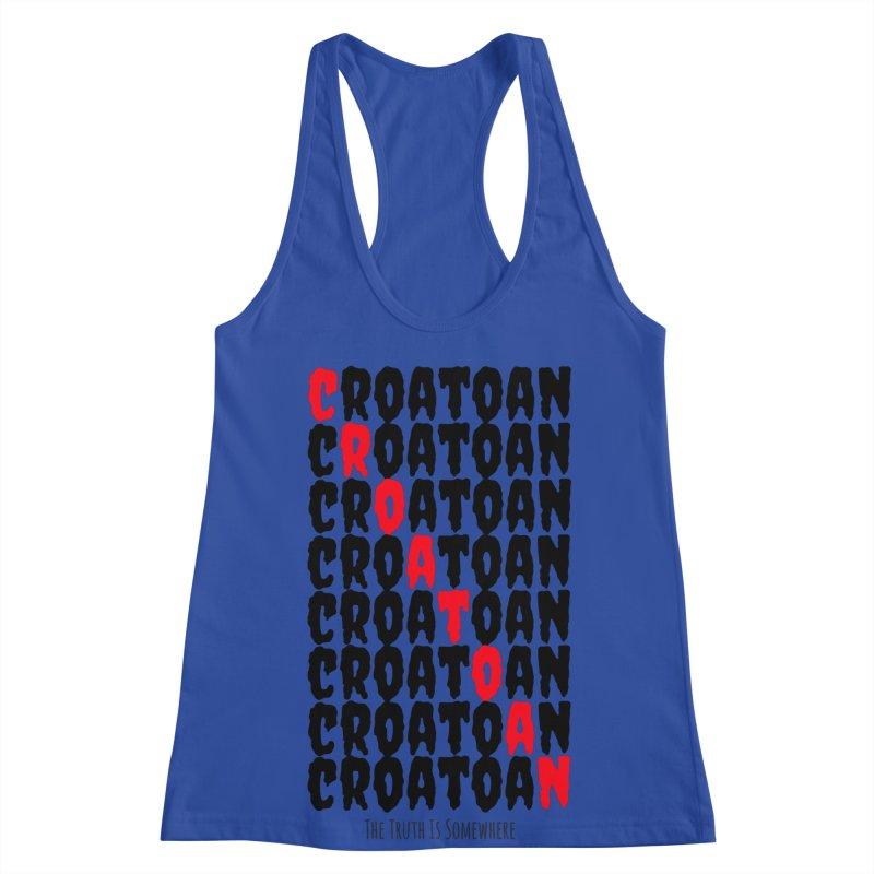 Croatoan Light Women's Racerback Tank by The Truth Is Somewhere