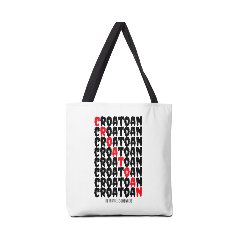 Croatoan Light Accessories Tote Bag Bag by The Truth Is Somewhere