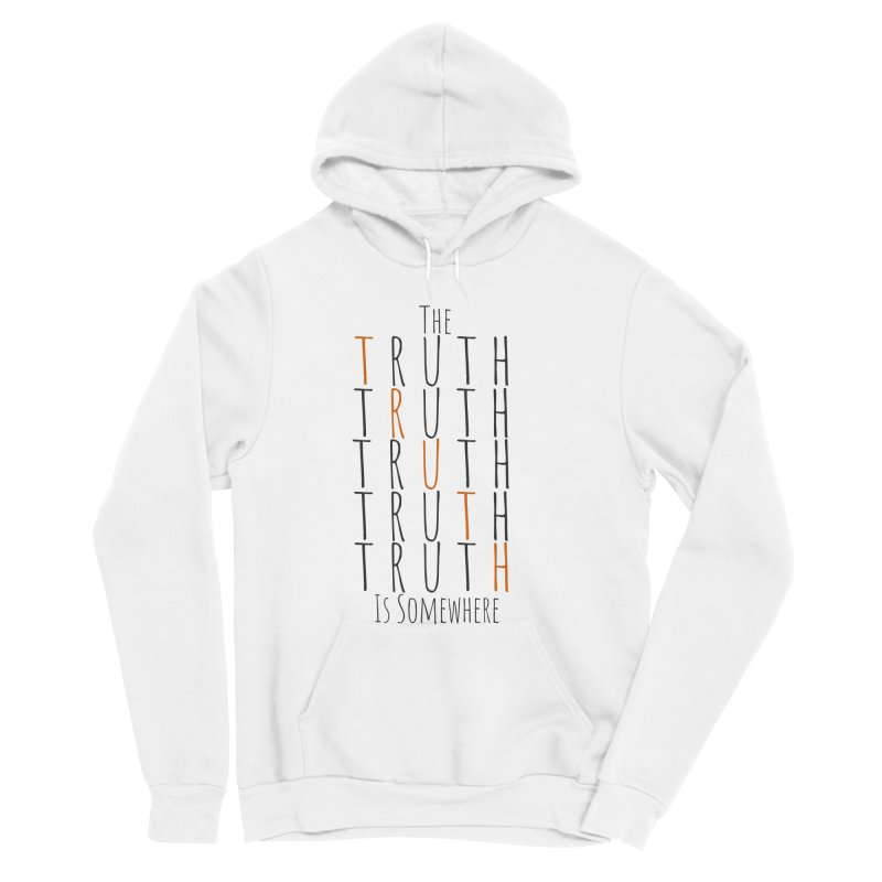 The Truth (Light Background) Men's Sponge Fleece Pullover Hoody by The Truth Is Somewhere