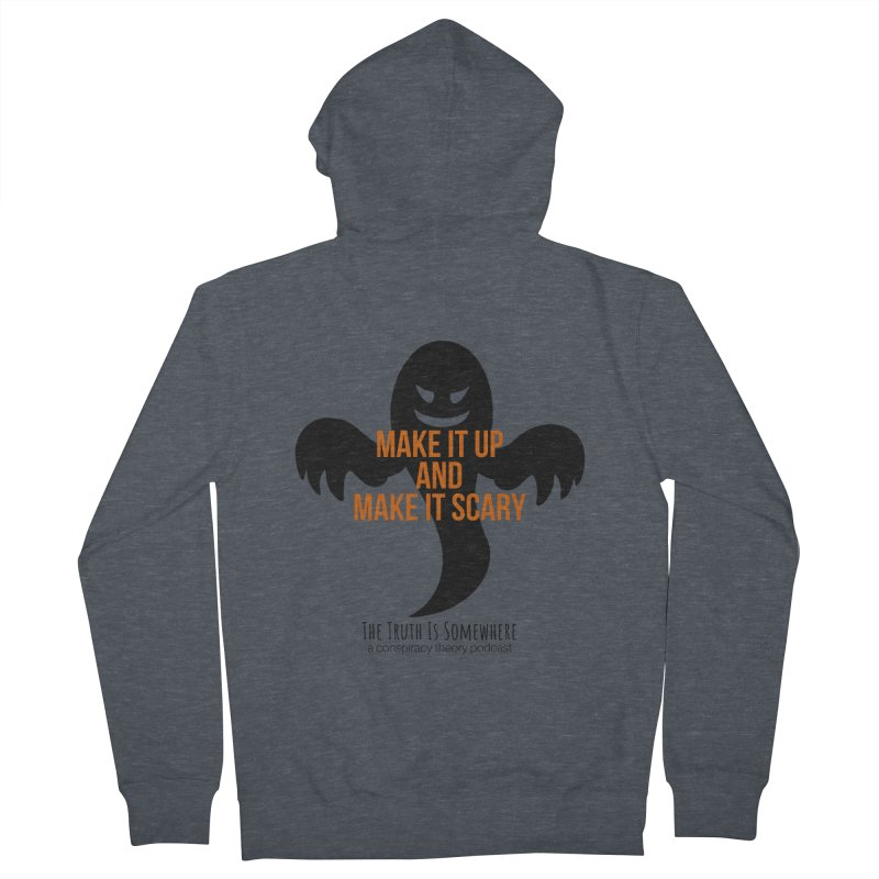 Based on a True Story Men's French Terry Zip-Up Hoody by The Truth Is Somewhere