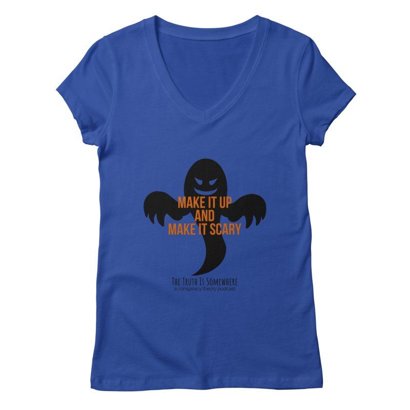 Based on a True Story Women's Regular V-Neck by The Truth Is Somewhere