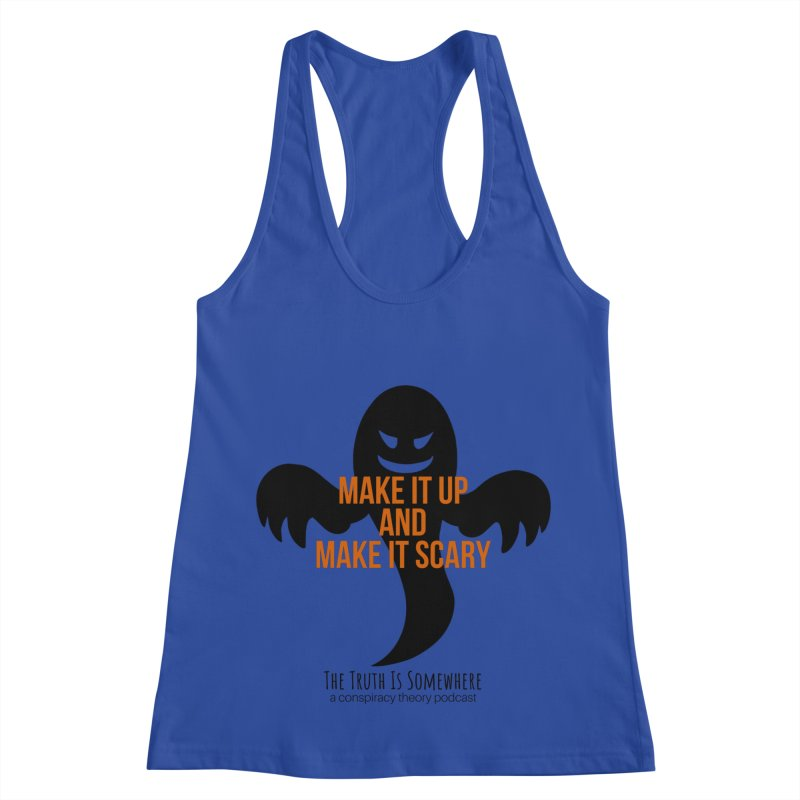 Based on a True Story Women's Racerback Tank by The Truth Is Somewhere
