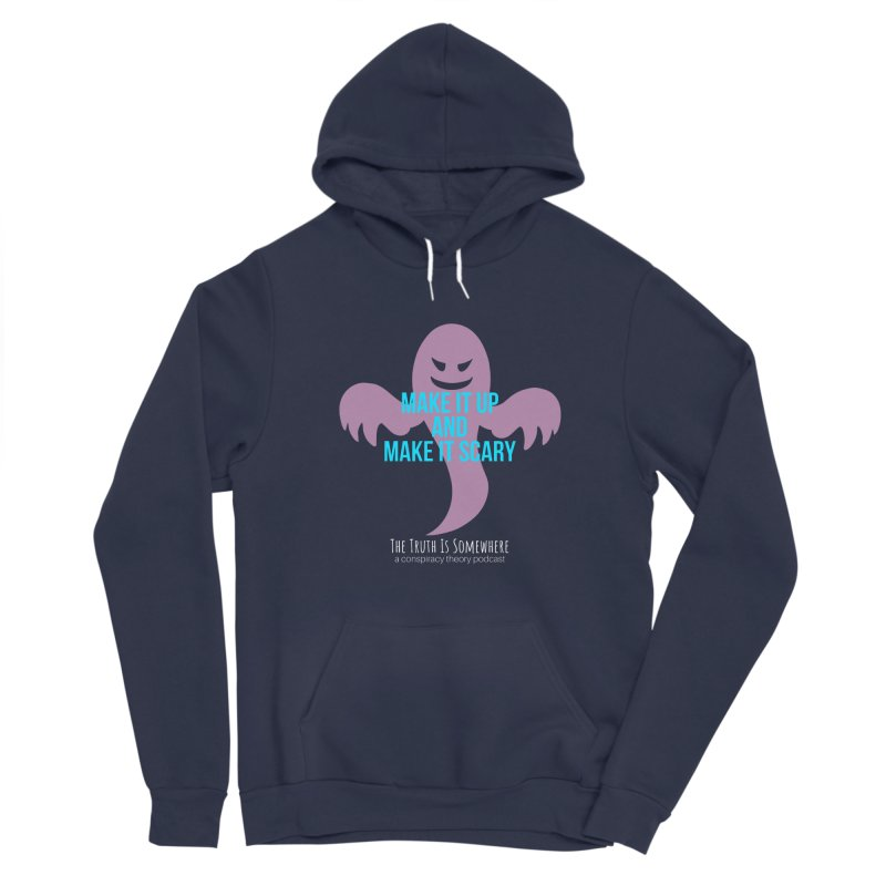 Based on a True Story (Dark BG) Men's Pullover Hoody by The Truth Is Somewhere