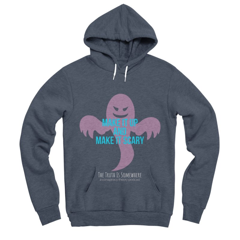 Based on a True Story (Dark BG) Women's Sponge Fleece Pullover Hoody by The Truth Is Somewhere