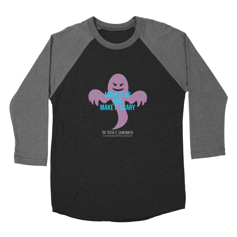 Based on a True Story (Dark BG) Women's Baseball Triblend Longsleeve T-Shirt by The Truth Is Somewhere
