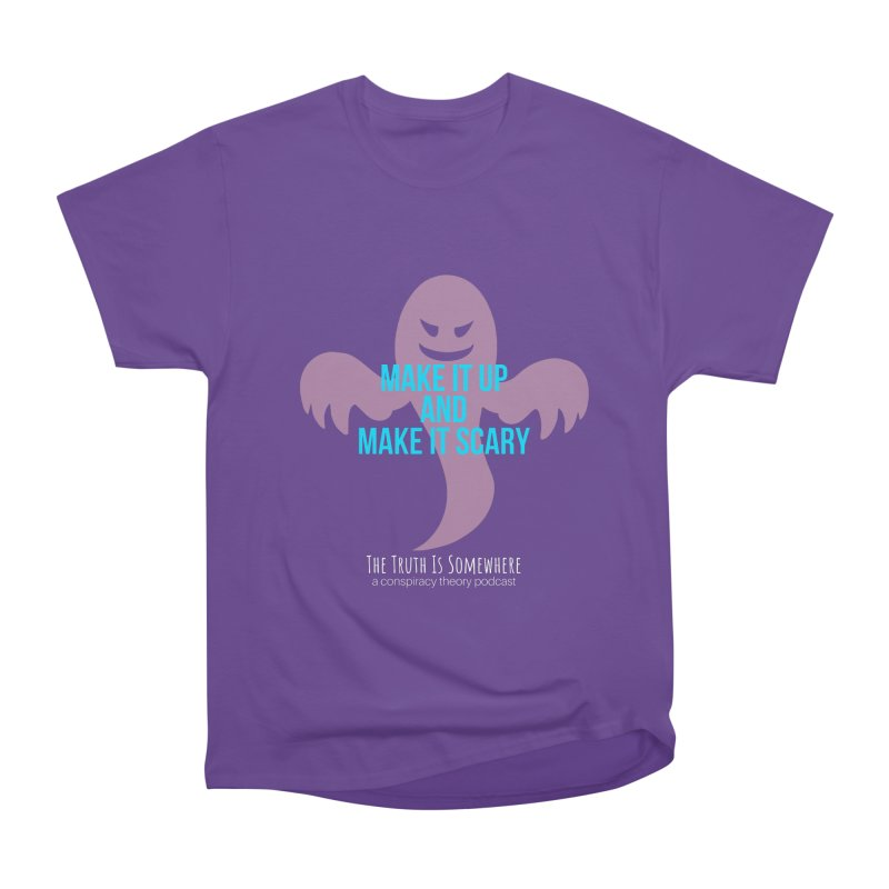 Based on a True Story (Dark BG) Men's Heavyweight T-Shirt by The Truth Is Somewhere