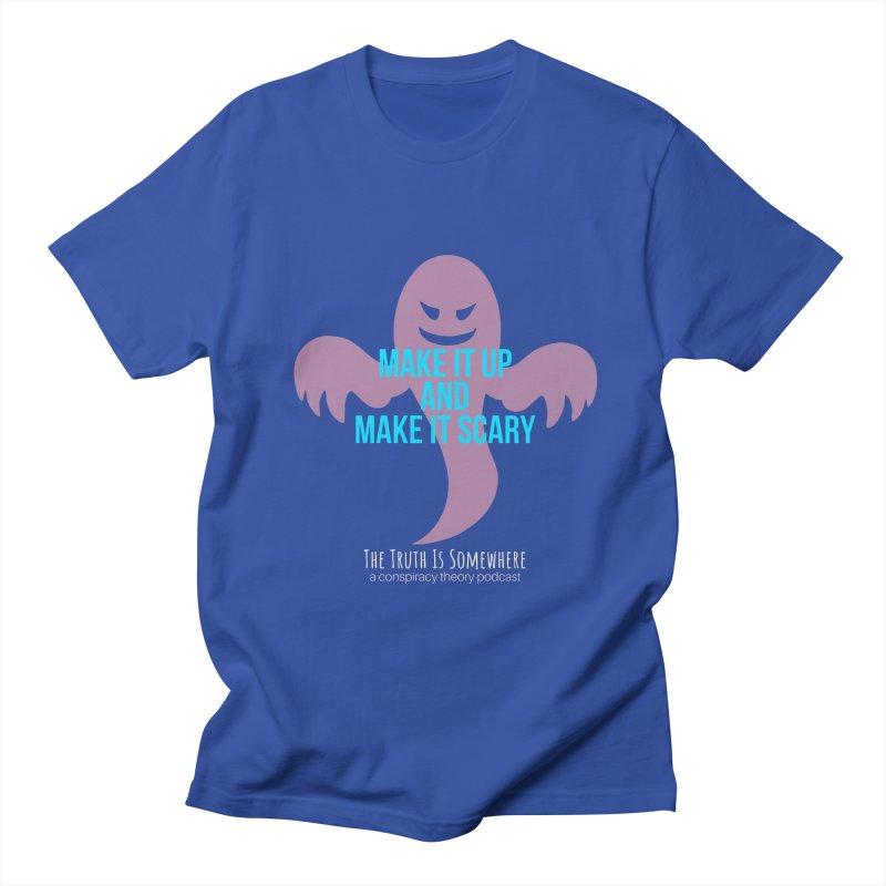 Based on a True Story (Dark BG) Men's Regular T-Shirt by The Truth Is Somewhere