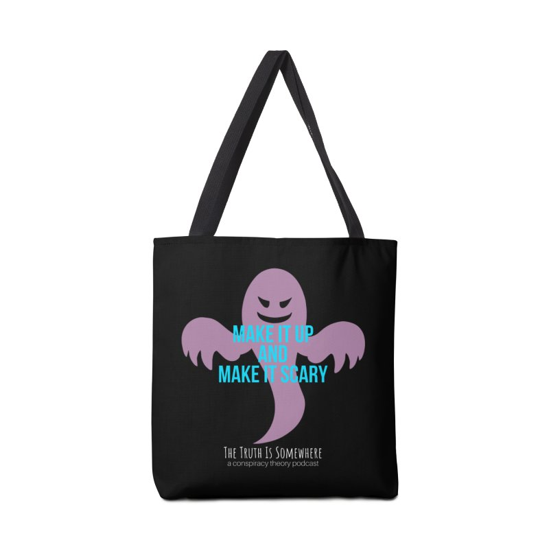Based on a True Story (Dark BG) Accessories Tote Bag Bag by The Truth Is Somewhere