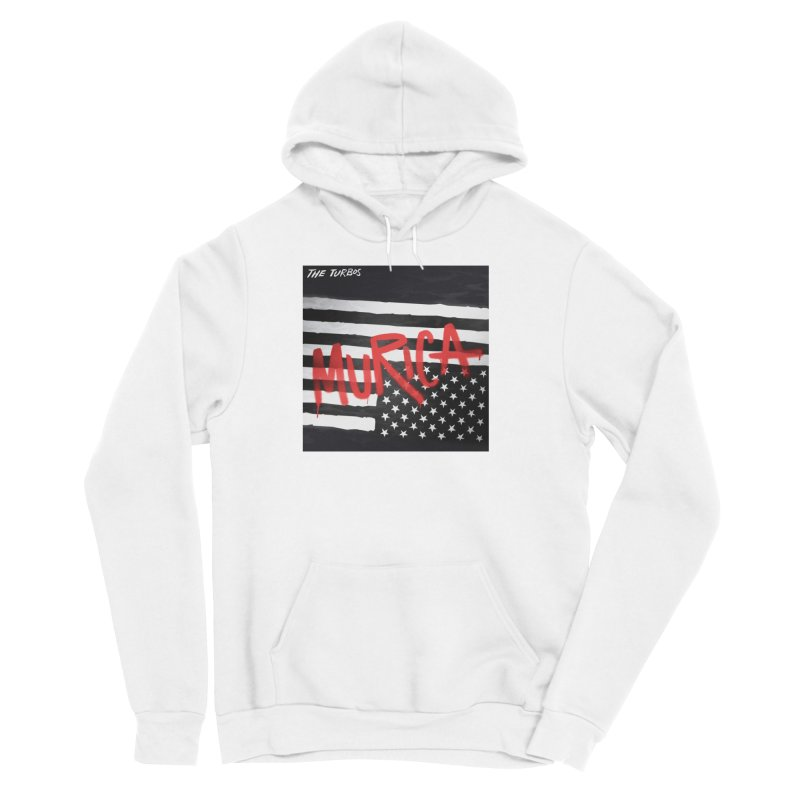 'Murica Women's Sponge Fleece Pullover Hoody by The Turbos Merch Stand