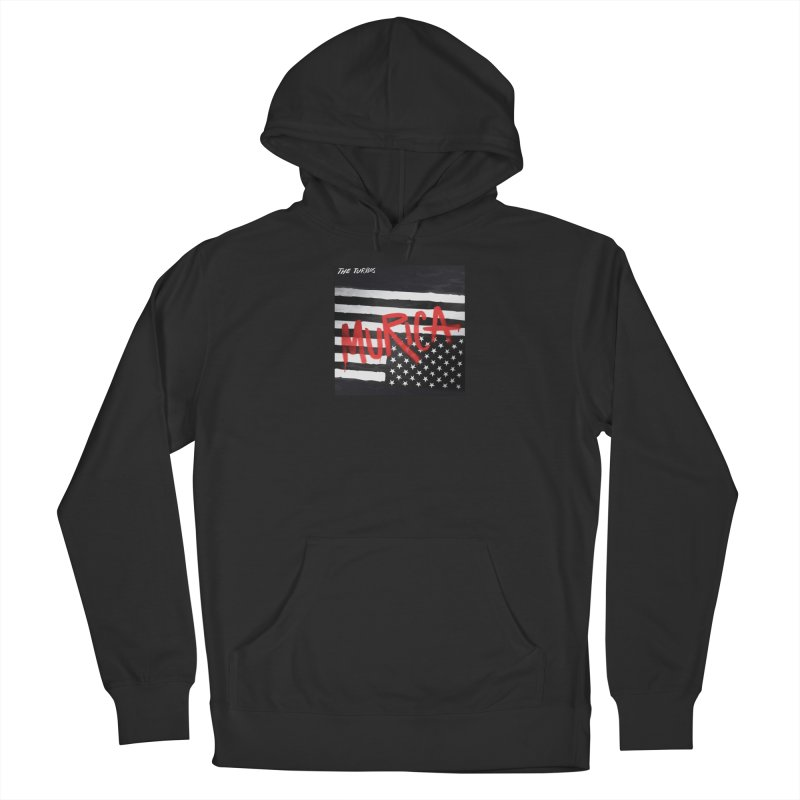 'Murica Women's French Terry Pullover Hoody by The Turbos Merch Stand