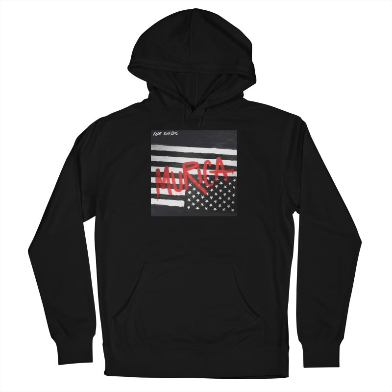 'Murica Men's French Terry Pullover Hoody by The Turbos Merch Stand