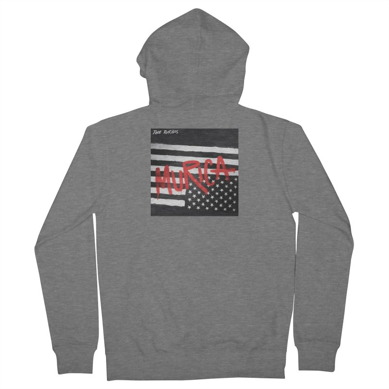 'Murica Women's Zip-Up Hoody by The Turbos Merch Stand