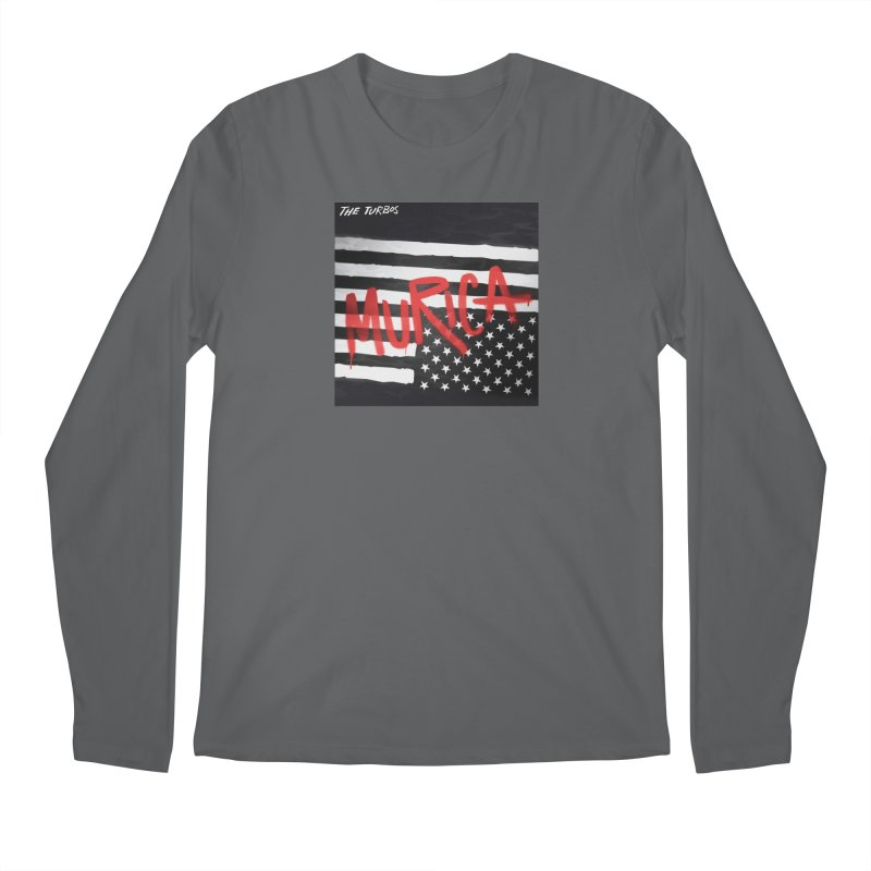 'Murica Men's Regular Longsleeve T-Shirt by The Turbos Merch Stand