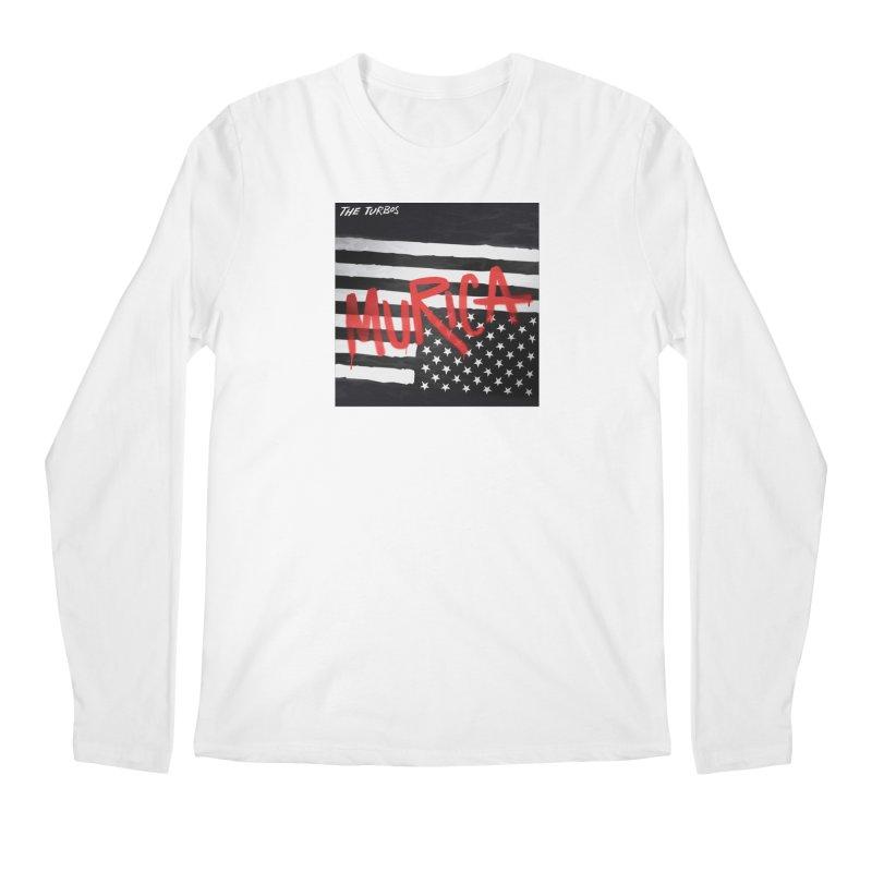'Murica Men's Regular Longsleeve T-Shirt by The Turbos Merch Stand
