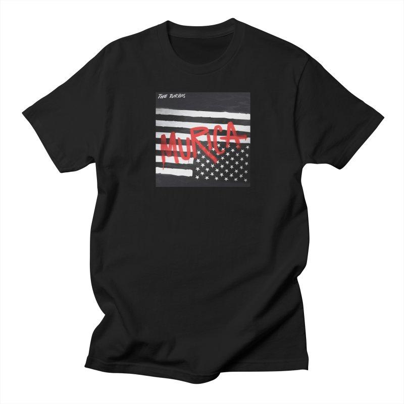 'Murica Men's Regular T-Shirt by The Turbos Merch Stand
