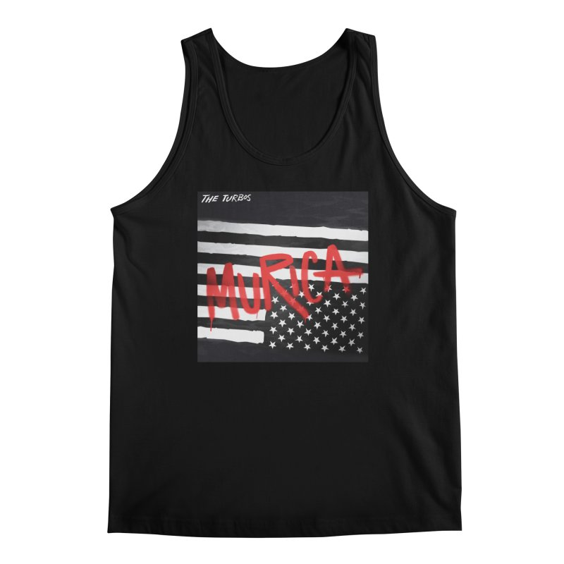 'Murica Men's Regular Tank by The Turbos Merch Stand