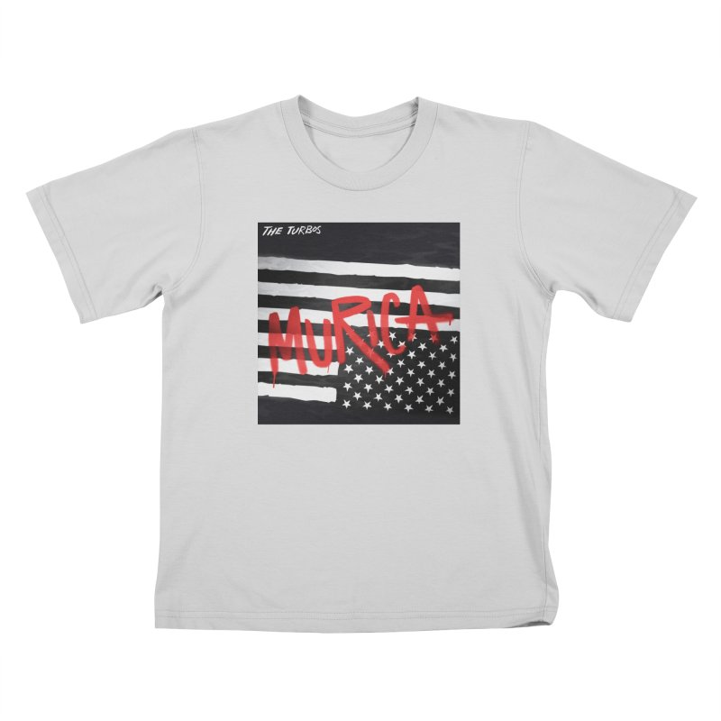 'Murica Kids T-Shirt by The Turbos Merch Stand