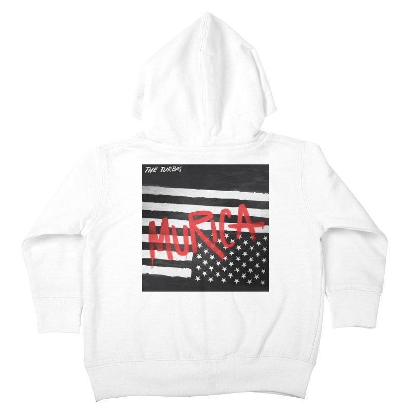 'Murica Kids Toddler Zip-Up Hoody by The Turbos Merch Stand