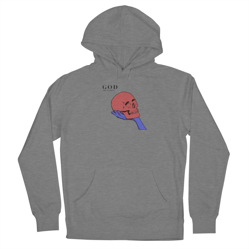 God Men's French Terry Pullover Hoody by The Turbos Merch Stand