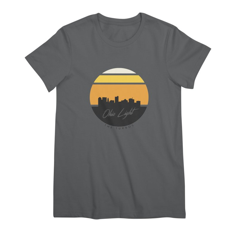 Ohio Light Women's Premium T-Shirt by The Turbos Merch Stand