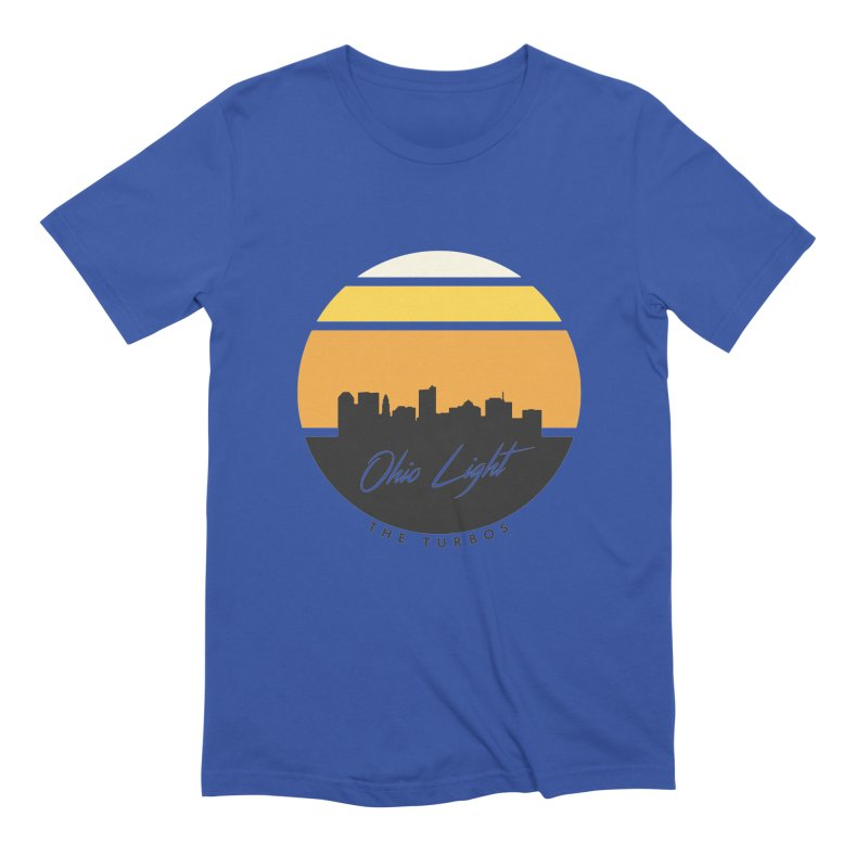 Ohio Light Men's Extra Soft T-Shirt by The Turbos Merch Stand