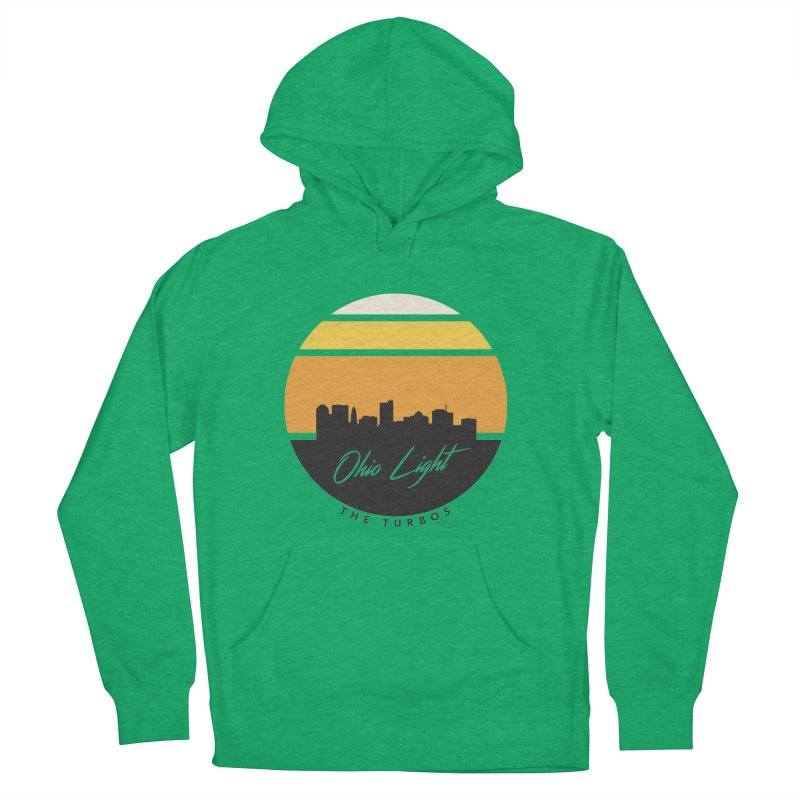 Ohio Light Men's French Terry Pullover Hoody by The Turbos Merch Stand