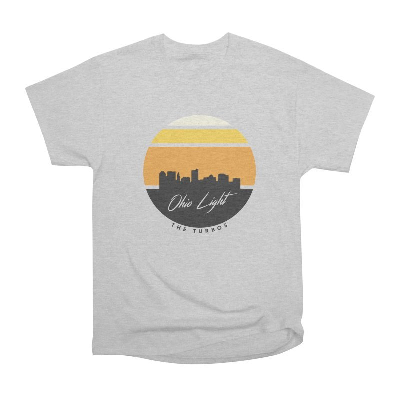 Ohio Light Men's Heavyweight T-Shirt by The Turbos Merch Stand