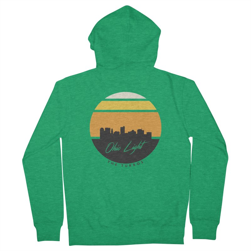 Ohio Light Women's French Terry Zip-Up Hoody by The Turbos Merch Stand