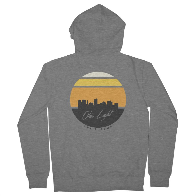 Ohio Light Men's French Terry Zip-Up Hoody by The Turbos Merch Stand