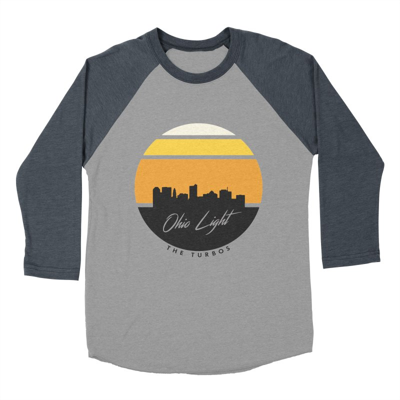 Ohio Light Men's Baseball Triblend Longsleeve T-Shirt by The Turbos Merch Stand