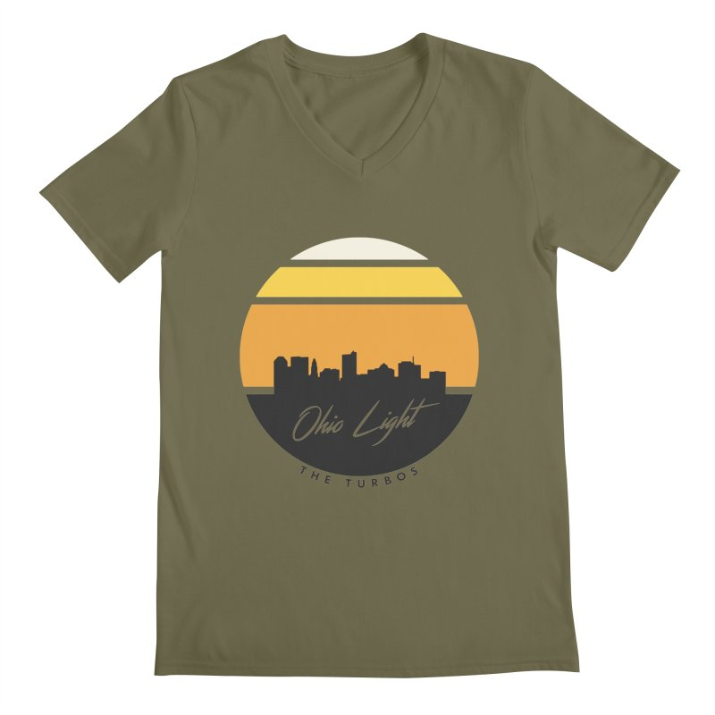 Ohio Light Men's Regular V-Neck by The Turbos Merch Stand