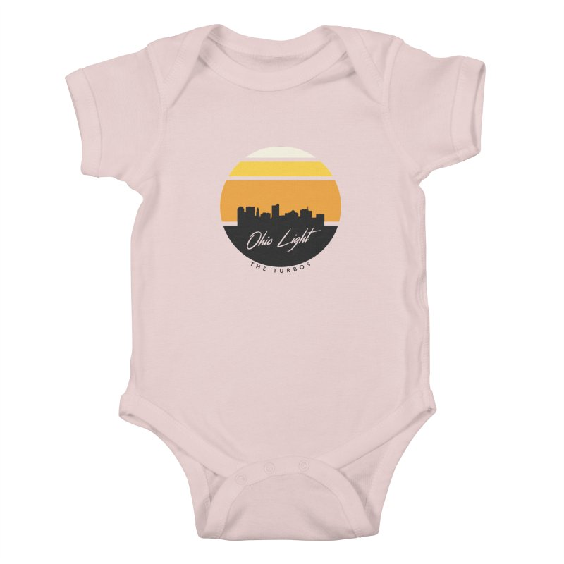 Ohio Light Kids Baby Bodysuit by The Turbos Merch Stand