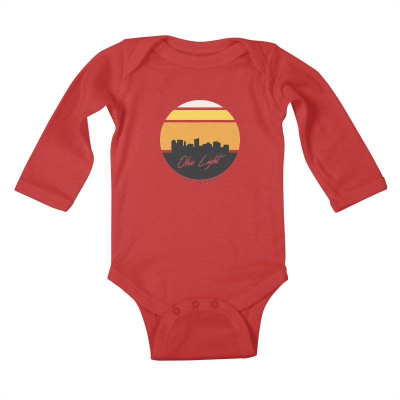 Ohio Light Kids Baby Longsleeve Bodysuit by The Turbos Merch Stand
