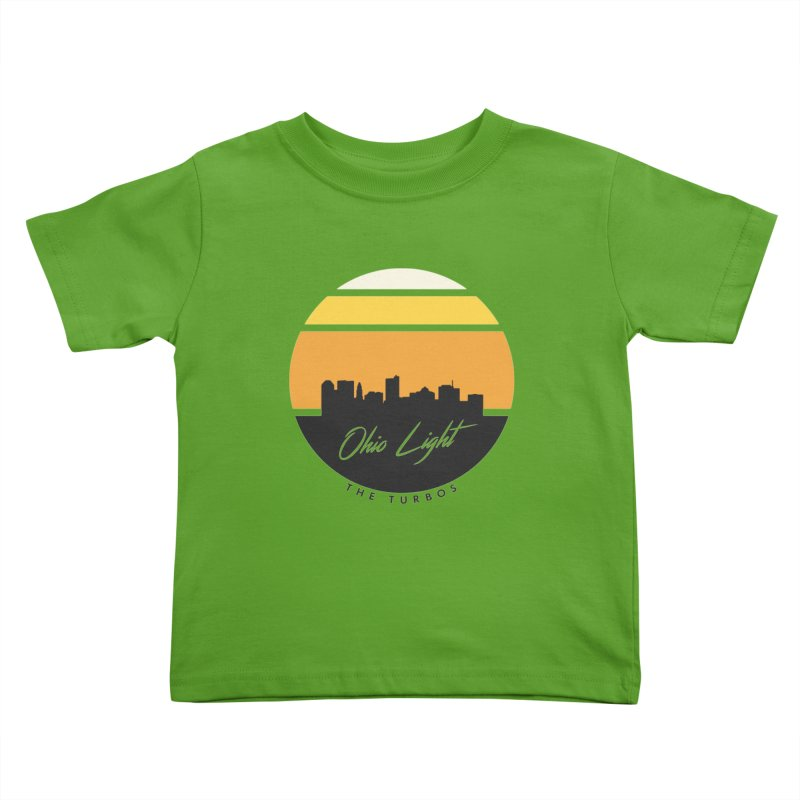 Ohio Light Kids Toddler T-Shirt by The Turbos Merch Stand