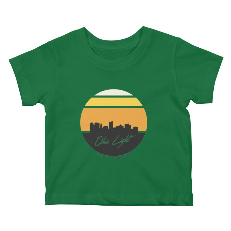 Ohio Light Kids Baby T-Shirt by The Turbos Merch Stand