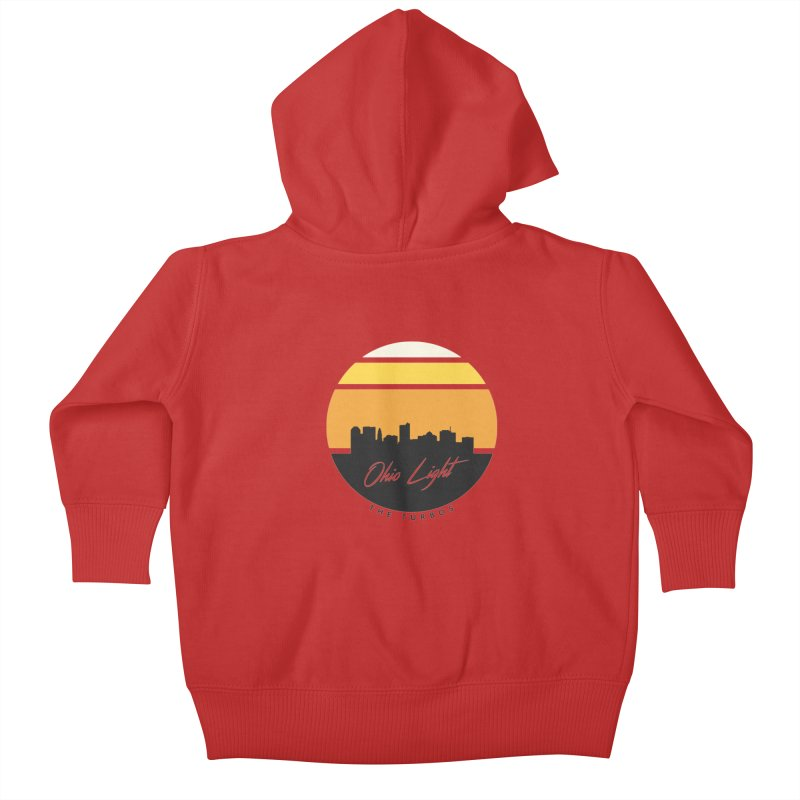 Ohio Light Kids Baby Zip-Up Hoody by The Turbos Merch Stand